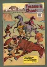 Comic book 1967 great contents Treasure Chest #290